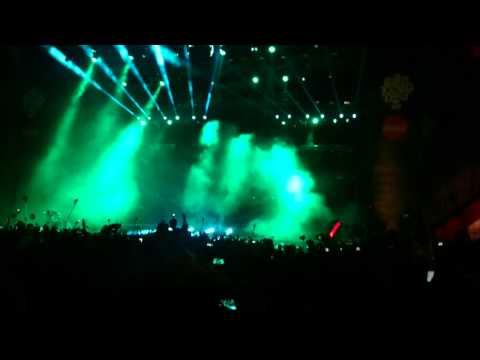 Abertura Calvin Harris Lollapalooza Chile 2015