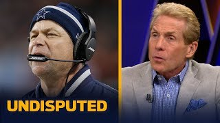 Skip Bayless reacts to the Cowboys firing Scott Linehan & likely OC candidates | NFL | UNDISPUTED