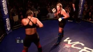 WCFL MMA 16 //  Angel Keihl vs Lauren Bensinger   10 8 2016