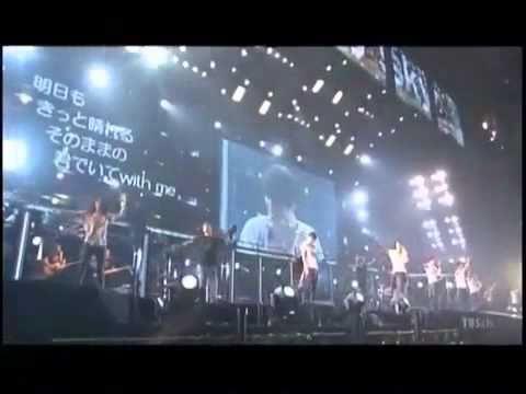 [TVXQ] Kiss The Baby Sky - TVXQ يغنون مع الجماهير