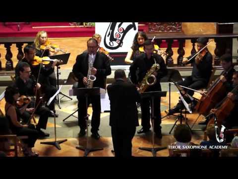Seis Caricaturis y un Bis - Teror Saxophone Academy 2015