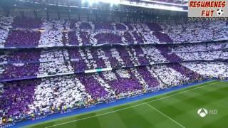 Real Madrid 3-0 Atlético de Madrid.  Semifinal de la Champions partido de ida.  02-05-17