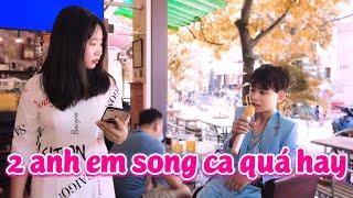 2 anh em song ca Bolero đốn tim triệu người nghe│Sao Chưa Thấy Hồi Âm - Hà Vi ft Quốc Linh