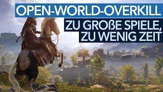 Assassin's Creed & Co. - Wer soll diese ganzen Open World Games spielen?
