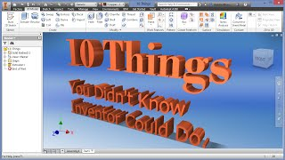 10 Things You Didn't Know Inventor Could Do