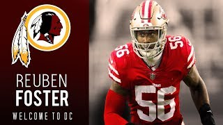 Reuben Foster Highlights | Welcome to DC