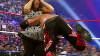 Edge Spears Vickie Guerrero - The Bash 2008