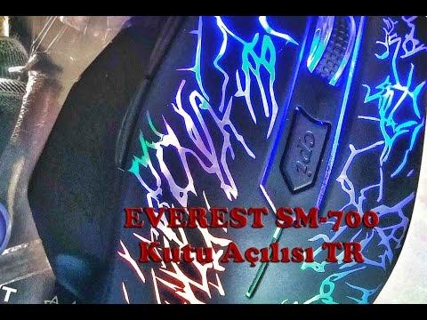EVEREST SM-700 Gaming Mouse (Türkçe)