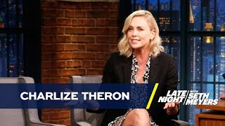 Charlize Theron Got Served Some Candid Honesty by a Rib Lady at Coney Island
