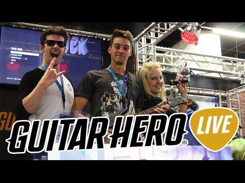TUTTO su GUITAR HERO LIVE dalla GAMESCOM 2015