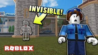 THIS SHIRT MAKES YOU INVISIBLE ON JAILBREAK! | Roblox