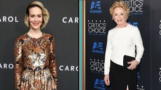 Sarah Paulson Sends Girlfriend Holland Taylor the Cutest Birthday Message Ever!