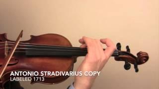 Antonio Stradivarius Copy 1713