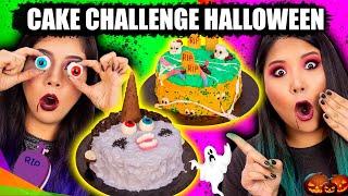 CAKE CHALLENGE HALLOWEEN - Desafio do bolo   Blog das irmãs