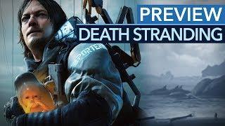 Übertreibt's Kojima mit Death Stranding? - Alle Infos im Preview-Video für PS4 (REUPLOAD)
