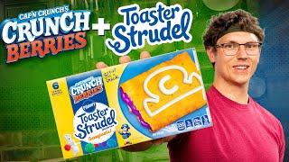 Josh Creates Cap'n Crunch Toaster Strudel