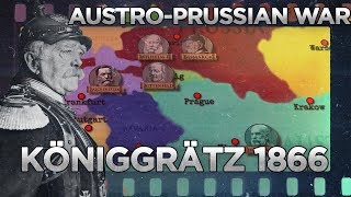 Battle of Königgrätz 1866 - Austro-Prussian War DOCUMENTARY
