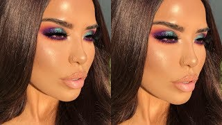 COLORFUL BUT CHIC MAKEUP TUTORIAL  | iluvsarahii