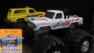 Matchbox Super Chargers Monster Trucks From Late 1980's