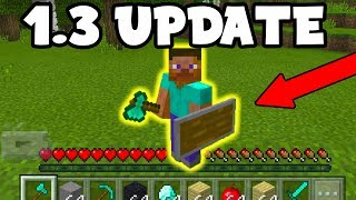 NEW Minecraft PE 1.3 Update RELEASE DATE soon?? (MCPE, Pocket Edition)