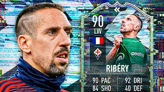 IS HE WORTH 800K?! 🤯 90 FLASHBACK RIBERY PLAYER REVIEW! - FIFA 21 Ultimate Team