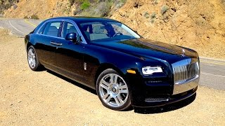 2015 Rolls Royce Ghost II EWB FIRST DRIVE REVIEW