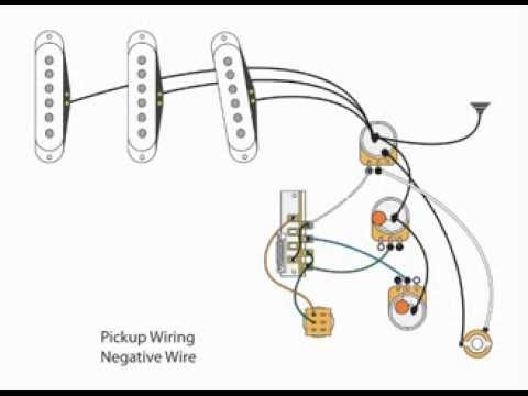 diy 7-way switch and dual tone stratocaster mod - youtube stratocaster wiring diagram bridge tone mod strat wiring diagram one tone
