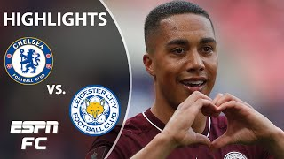 Youri Tielemans scores a WORLDY as Leicester City downs Chelsea! | FA Cup final highlights | ESPN FC