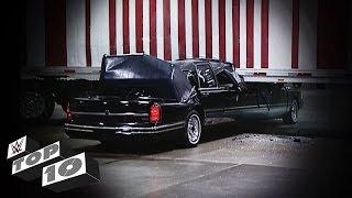 Smashing Limousine Scenes: WWE Top 10
