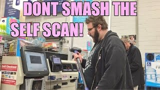 EMBARRASSING FATHERS WWE Impressions at Lowe's While Christmas Shopping