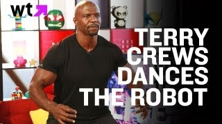Brooklyn Nine-Nines' Terry Crews Dances The Robot | LIVE Full Interview