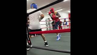 Gervonta Davis almost KNOCKED during Sparring - FULL VIDEO