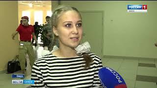 Соревнования среди юнармейских отрядов прошли в Омске в минувшую субботу
