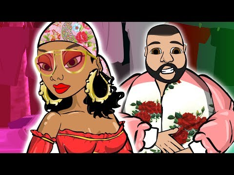 DJ Khaled ft. Rihanna - Wild Thoughts (CARTOON) #WILDTHOUGHTSCONTEST