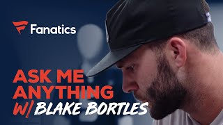 Ask Blake Bortles Anything: From hardest NFL hit to signing a baby in college   #FanaticsAMASeries