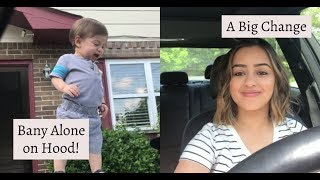 Baby Alone on Car Hood + A Big Change! | TheYongFamily - YouTube