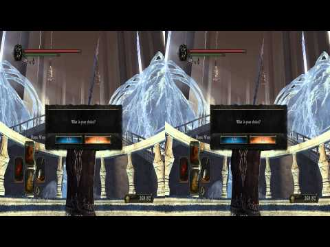 DarkSouls II Ivory King - Aava dies and then I die to chaos 3D