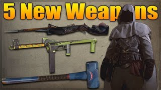 5 New weapons – Crossbow, EMP 44, Sledgehammer & More (COD WW2 Halloween Scream)