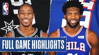 SPURS at 76ERS | FULL GAME HIGHLIGHTS | August 3, 2020