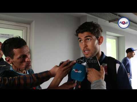 العطوشي يتحدث عن الديربي بعد تسجيله هدف الفوز للوداد
