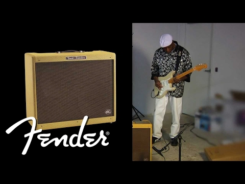 Buddy Guy Tests Out the New Eric Clapton Series Amplifiers