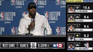 Serge Ibaka Press Conference | Eastern Conference Finals Game 4