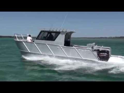 plate boat OMM JAYCAT 8M Commercial