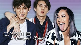 Cardi B - I Like It ft. Chanyeol, Sehun (Mashup)