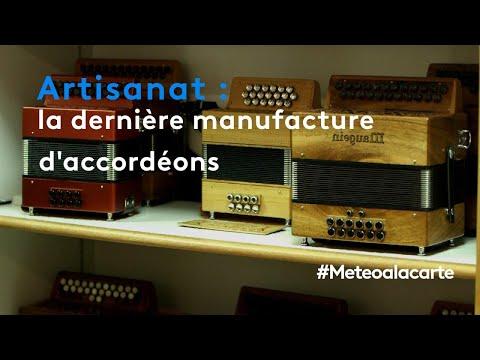 Artisanat : la dernière manufacture d'accordéons à Tulle