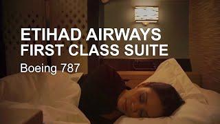 Etihad Airways First Class Suite On Board Boeing 787