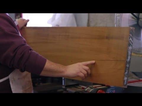 How To Fix Splitting Wood Furniture Repair Tips Youtube