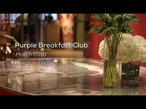 Purple Cubed Breakfast Club - March 2016