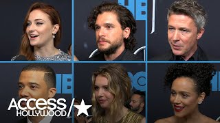 'Game Of Thrones' Cast Talk Series' Most-Shocking Moments (Part 2) | Access Hollywood