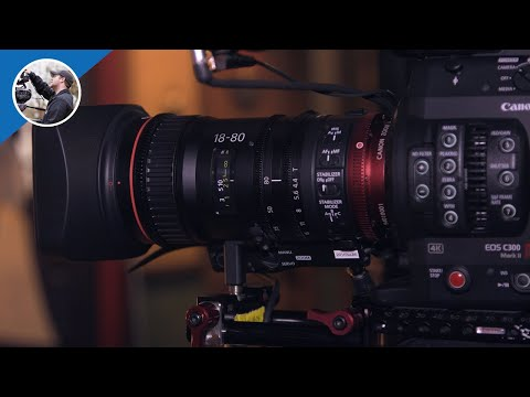 NAB 2016:  Canon CN-E 18-80mm T4.4 IS Servo Zoom Lens (Shot in 4K)